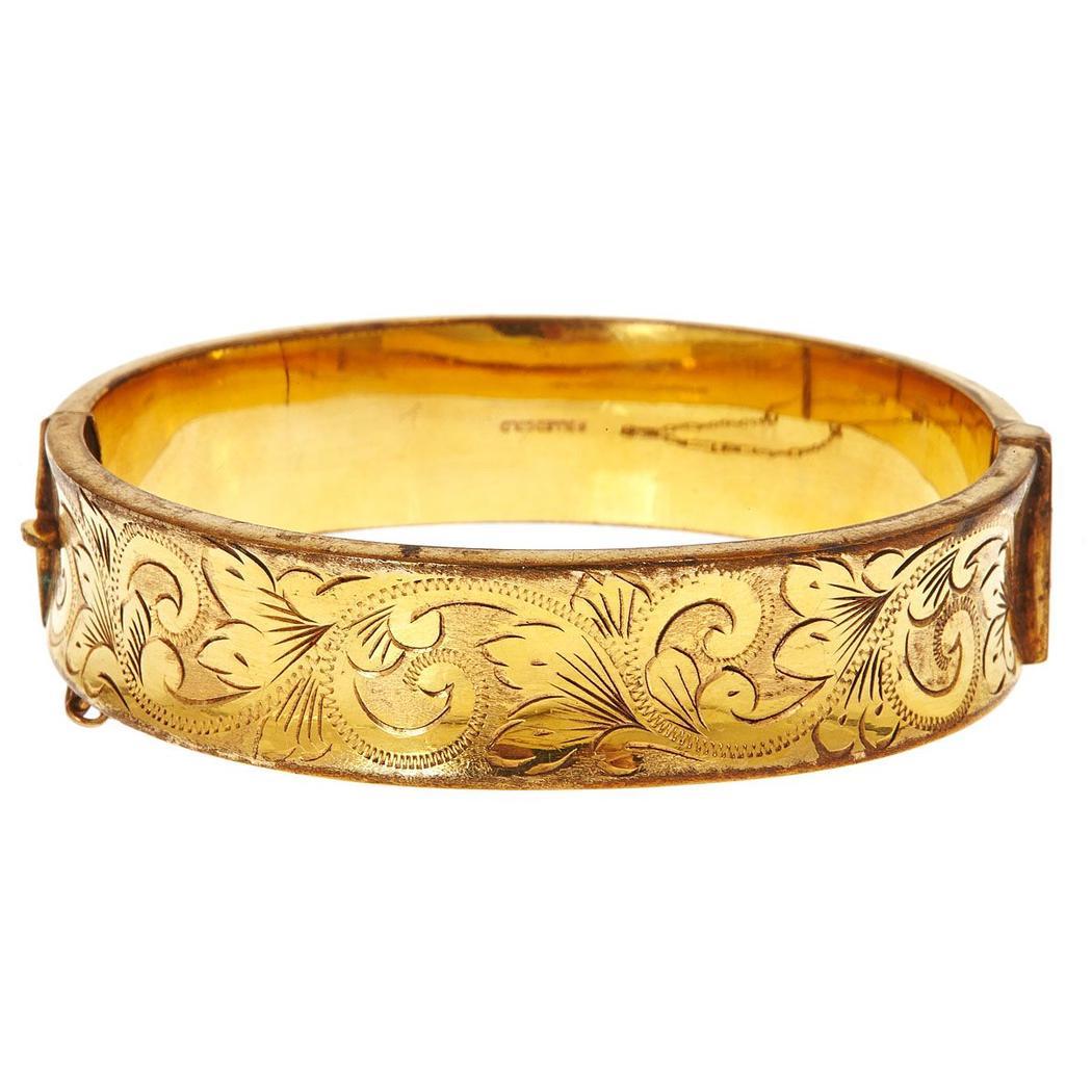 Rolled Gold Bracelet from Prather Beeland, Inc.