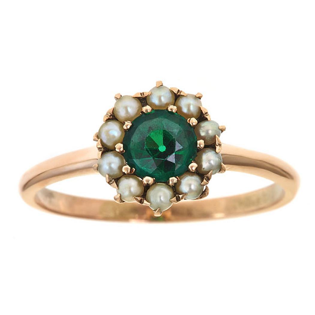 Vintage Seed Pearl Ring